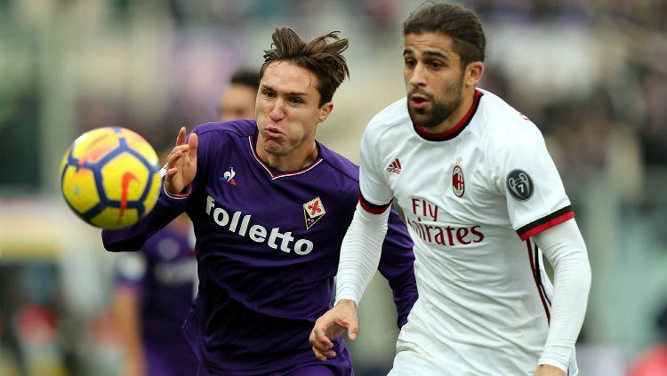 Fiorentina vs AC Milan Copyright: © Getty Images