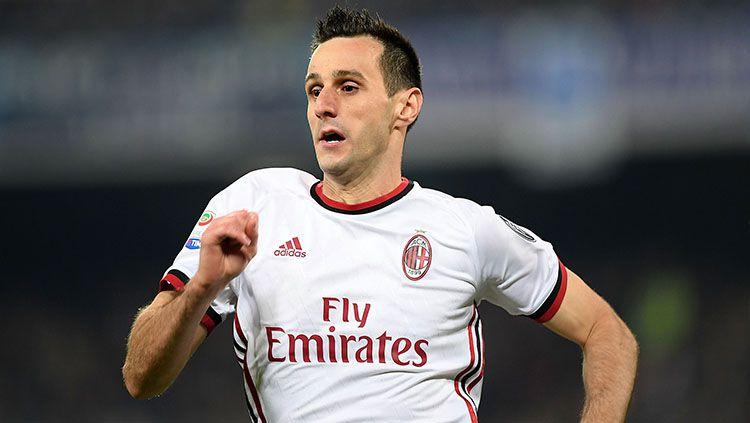 Pemain AC Milan, Nikola Kalinic. Copyright: © INDOSPORT