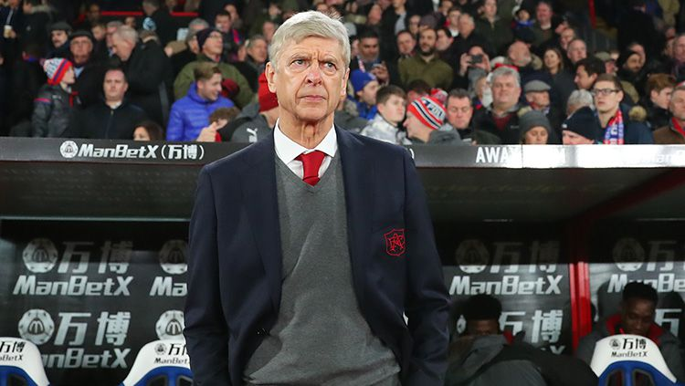 Manajer Arsenal, Arsene Wenger. Copyright: © Getty Images