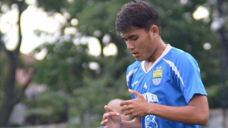 Puja Abdillah pemain muda Persib Bandung Copyright: © Istimewa