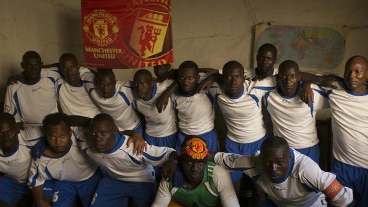 Tim sepakbola yang berasal dari penjara di Uganda. Copyright: © vice.com