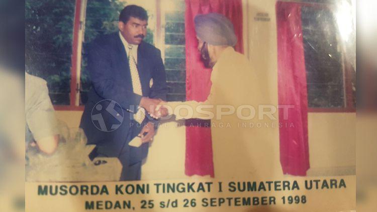 Gurnam Singh Pelari Tercepat se-Asia era 60-an asal Indonesia. Copyright: © INDOSPORT
