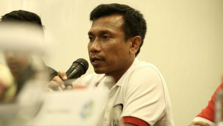 Widodo C. Putro, Pelatih Bali United. Copyright: © baliutd.com