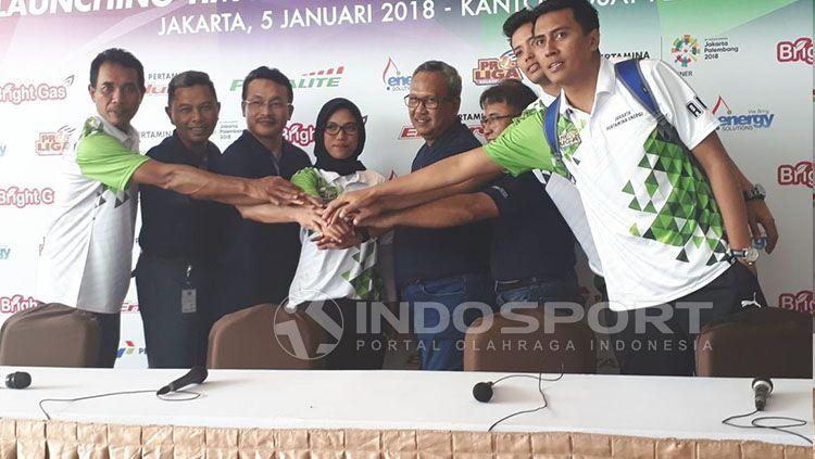 Launching Tim Jakarta Pertamina Energi Copyright: © Zainal Hasan/INDOSPORT