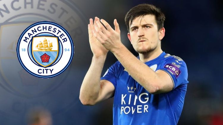 Bek Leicester City, Harry Maguire. Copyright: © INDOSPORT
