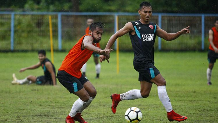 PSM Makassar latihan. Copyright: © Media PSM