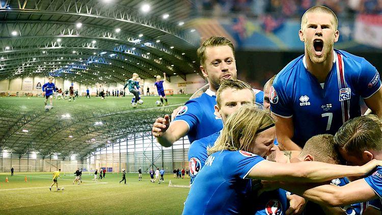 Timnas Islandia dan pengembang sepakbola usia muda di Islandia. Copyright: © Istimewa