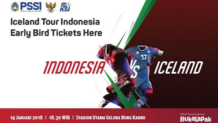 Timnas Indonesia vs Islandia di Stadion Gelora Bung Karno. Copyright: © Istimewa