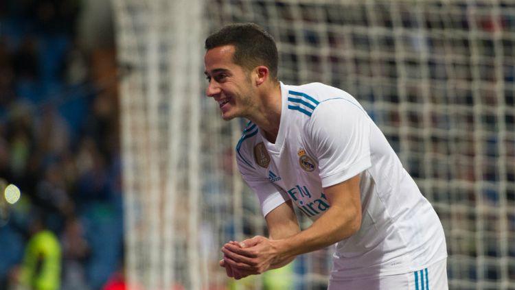 Ada tiga keuntungan utama yang bisa didapatkan klub Liga Italia, AC Milan, andai jadi merekrut bintang Real Madrid, Lucas Vazquez, di bursa transfer nanti. Copyright: © Getty Images