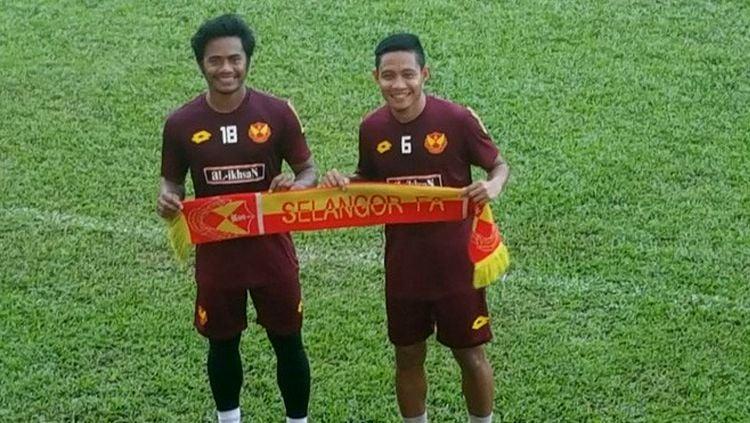Ilham Udin dan Evan Dimas. Copyright: © Evan Dimas for JawaPos