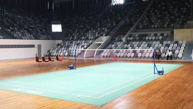 Indonesia Masters 2018 bakal menjadi event pertama Istana Olahraga (Istora) setelah direnovasi. Copyright: © HUMAS PBSI