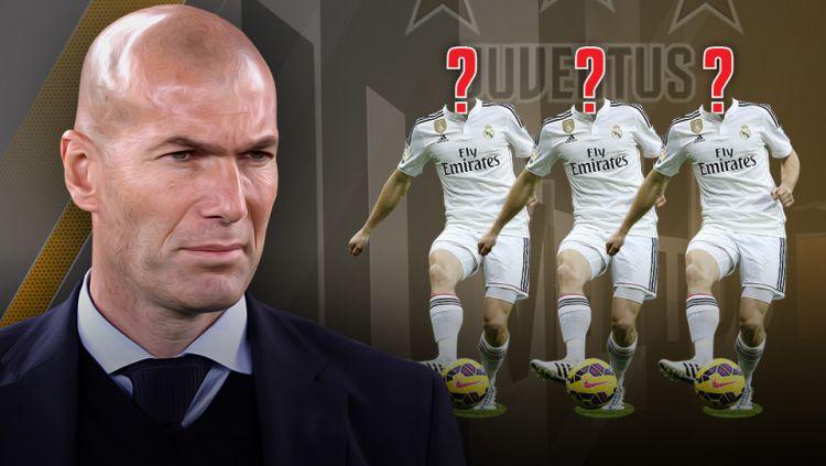 Zinedine Zidane Copyright: © Grafis:Yanto/Indosport.com