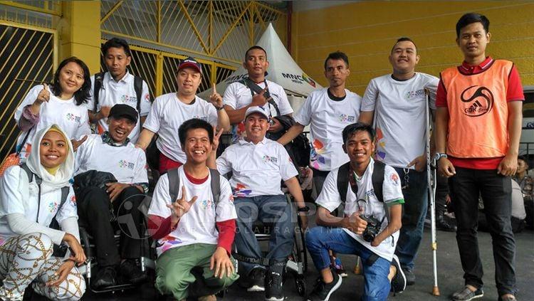 Petugas Pertandingan di SUGBK untuk laga Timnas Indonesia vs Islandia. Copyright: © Petrus Manus Da'Yerimon/INDOSPORT