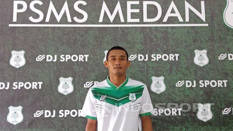 Legimin Rahardjo, kapten PSMS Medan Copyright: © Kusuma Ramadhan/INDOSPORT