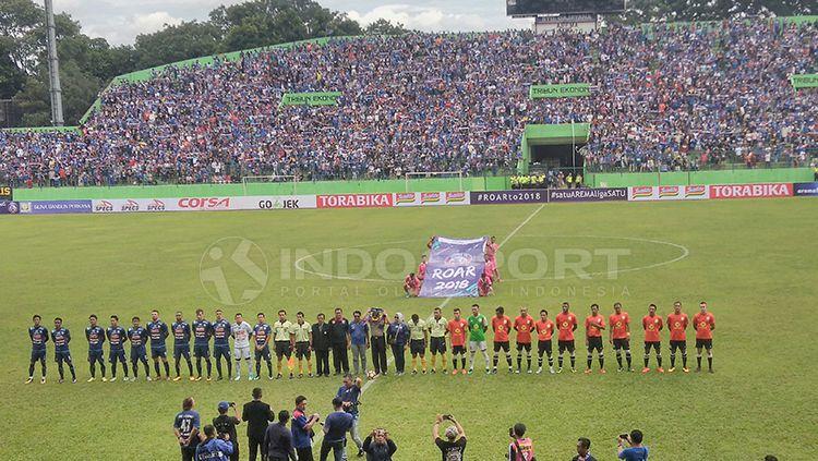 Stadion Gajayana Malang diplot sebagai venue Arema FC. Copyright: © Ian Setiawan/INDOSPORT