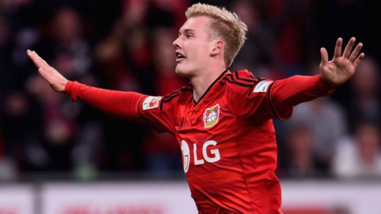 Pemain muda Bayer Leverkusen, Julian Brandt. Copyright: © Getty Images