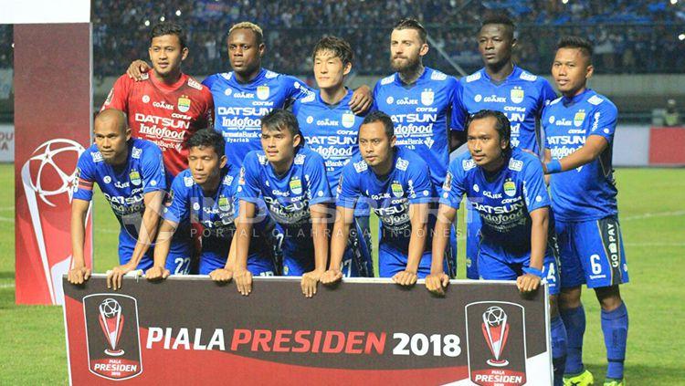 PSMS Medan vs Persib Bandung Copyright: © Arif Rahman/INDOPSORT