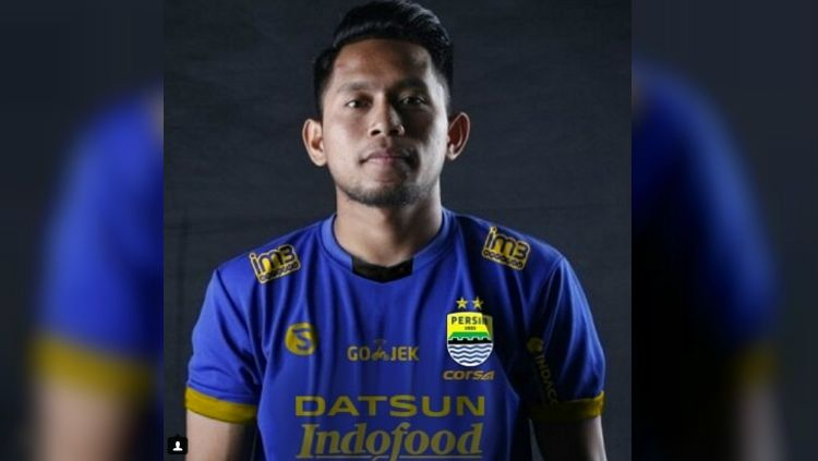 Suntingan gambar Andik Vermansah berseragam Persib Bandung Copyright: © Instagram