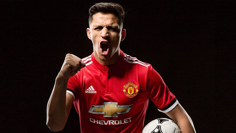 Alexis Sanchez resmi ke Man United. Copyright: © Man United