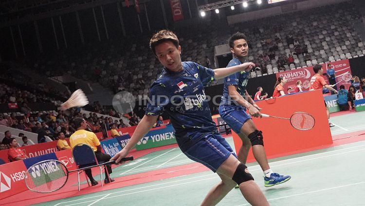 Tontowi Ahmad/Liliyana Natsir di Indonesia Masters 2018. Copyright: © Herry Ibrahim/INDOSPORT