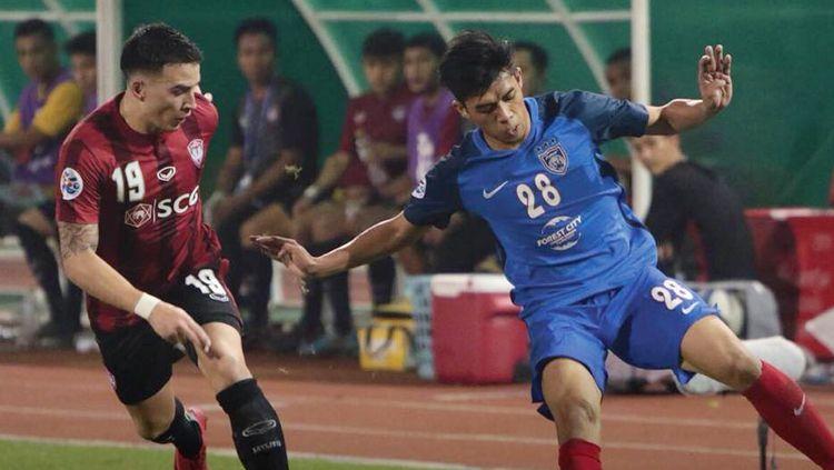 Muangthong United telah menjadi perbincangan di sepak bola ASEAN, setelah mereka dikabarkan bakal dibeli Manchester City hingga mampu melampaui Bali United. Copyright: © AFC Championship League