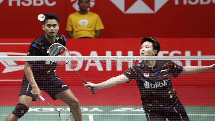 Tontowi Ahmad dan Liliyana Natsir Copyright: © Herry Ibrahim/Indosport.com