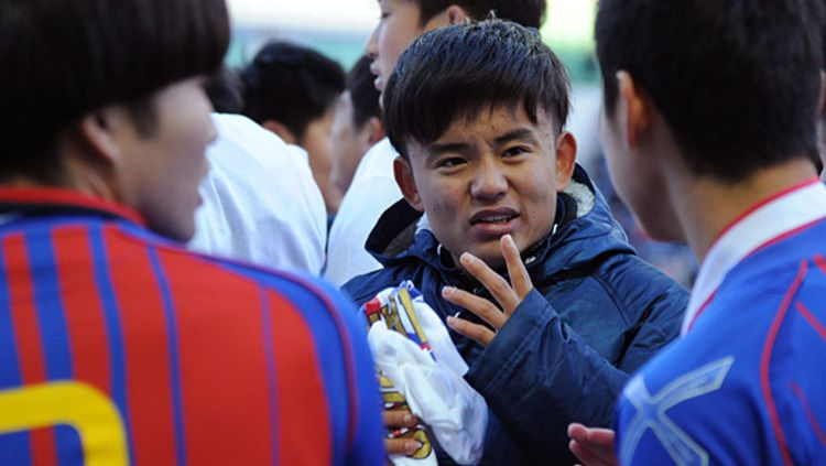 Takefusa Kubo alias Lionel Messi Jepang bisa membalas dendam ke raksasa LaLiga Spanyol, Real Madrid dengan gabung tiga raksasa Eropa ini. Copyright: © Getty Images