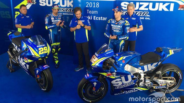 Andrea Iannone, Suzuki GSX-RR 2018 Copyright: © motorsport.com