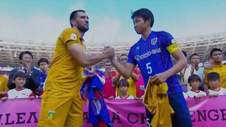 Bhayangkara FC vs FC Tokyo Copyright: © Twitter@fctokyoofficial