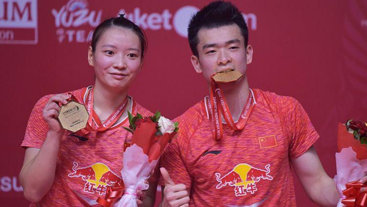 Organisasi Bulutangkis Dunia (BWF) pada Kamis (5/12/19) lalu merilis nominasi pemain putri terbaik di tahun 2019,lantas siapa yang mampu merusak dominasi China? Copyright: © INDOSPORT