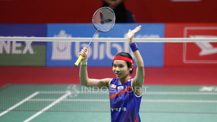 Pebulutangkis tunggal putri Chinese Taipei Tai Tzu Ying memiliki kisah selalu ketiban berkah juara saat mentas di Indonesia. Copyright: © Herry Ibrahim/INDOSPORT