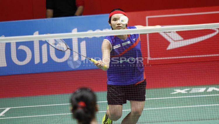 Sukses menjuarai turnamen Indonesia Masters pada tahun 2018, Ratu Bulutangkis ini dipastikan tak akan terlibat di edisi 2020 mendatang. Copyright: © Herry Ibrahim/INDOSPORT