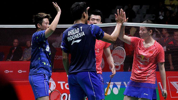 Tontowi Ahmad dan Liliyana Natsir gagal merengkuh gelar juara Indonesia Masters 2018 Copyright: © Humas Pelatnas PBSI