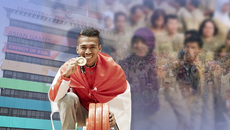 Salah satu atlet nasional, Deni. Copyright: © INDOSPORT/Istimewa