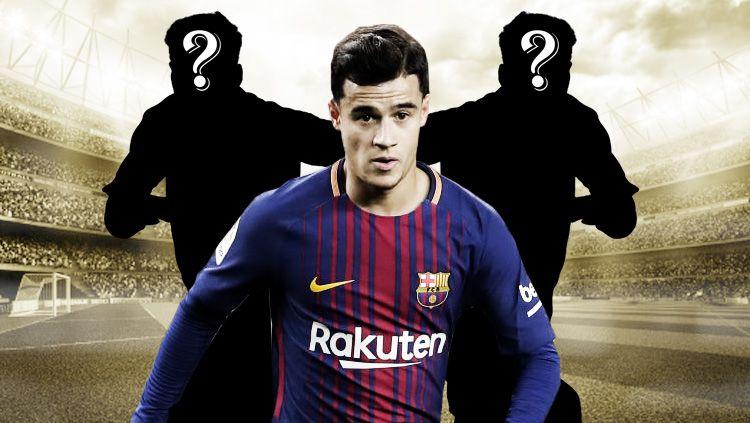 Tiga pemain yang akan bersinar dari rekrutan di bursa transfer Januari 2018, salah satunya Philippe Coutinho. Copyright: © Getty Images