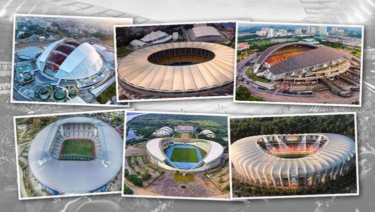 Stadion Termahal di Asia Tenggara. Copyright: © Indosport.com