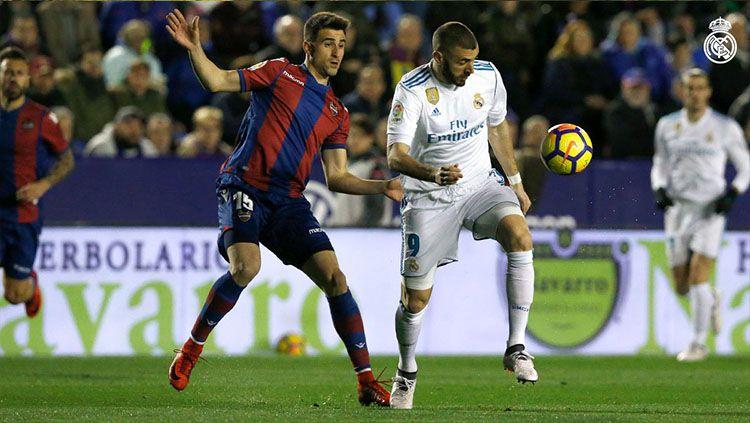 Bombardir Lini bertahan Levante di Santiago Bernabeu, Real Madrid Justru Kalah