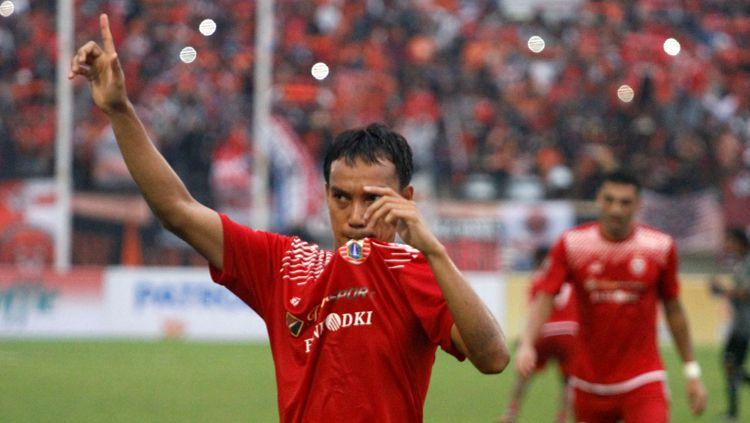 Novri Setiawan usai pertandingan melawan Mitra Kukar. Copyright: © Media Persija