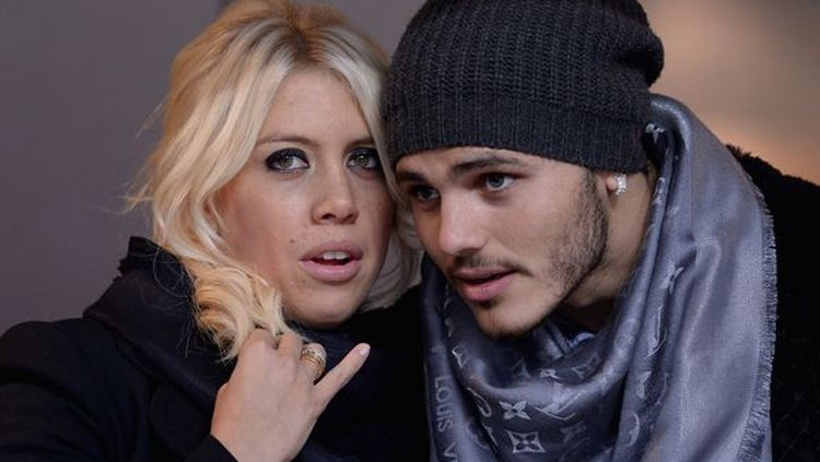 Wanda Nara dan Mauro Icardi. Copyright: © Getty Images