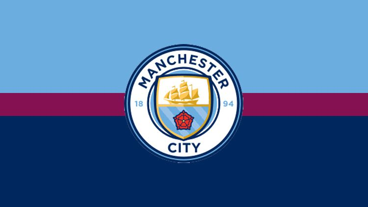 Logo Manchester City. Copyright: © Grafis: Eli Suhaeli/INDOSPORT