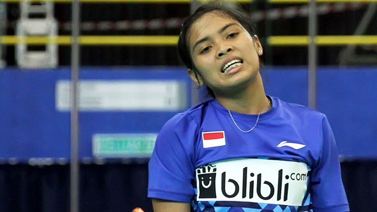 Pebulutangkis tunggal putri Indonesia, Gregoria Mariska Tunjung. Copyright: © Humas Pelatnas PBSI