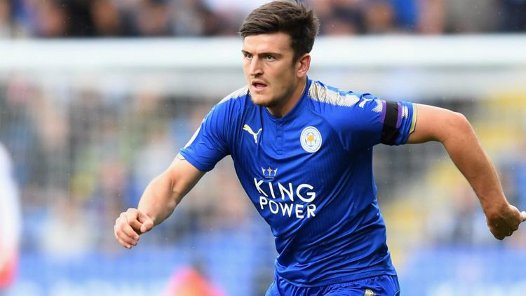 Bek Leicester City, Harry Maguire. Copyright: © Getty Images