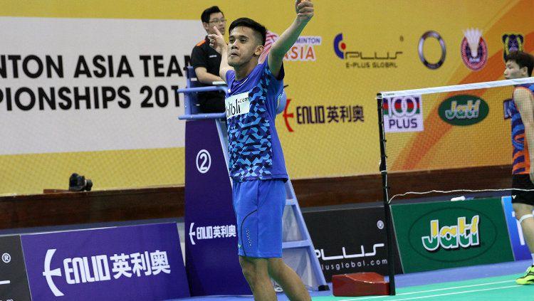 Firman Abdul Kholik di Badminton Asia Championship Copyright: © Humas PBSI