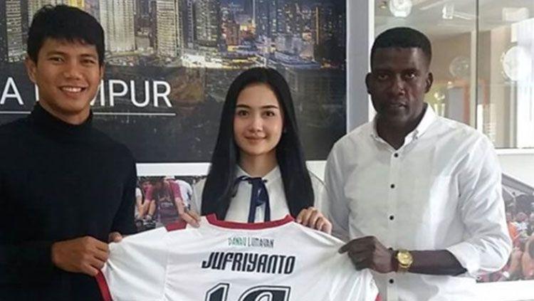 Ahmad Jufriyanto berseragam Kuala Lumpur FA Copyright: © Ofisial Kuala Lumpur FA