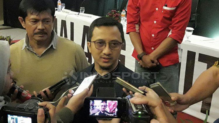 Ustaz Yusuf Mansur. Copyright: © Ian Setiawan/Indosport.com
