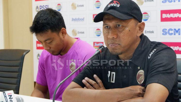 Pelatih Sriwijaya FC, Rahmad Darmawan. Copyright: © Muhammad.Effendi/Indosport.com