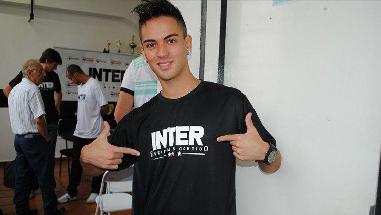 Thiago Augusto Leite pemain asing seleksi Persela Lamongan Copyright: © Istimewa