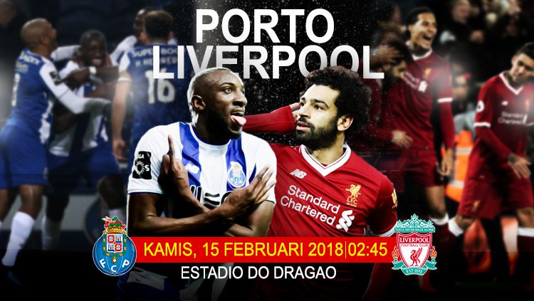 Porto vs Liverpool. Copyright: © Grafis: Eli Suhaeli/INDOSPORT