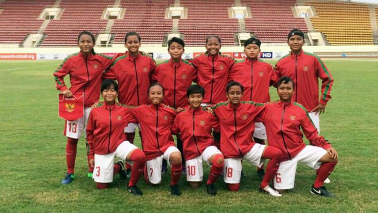 Timnas Wanita Indonesia Copyright: © pssi