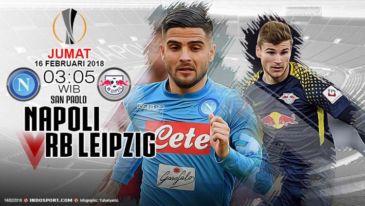 Prediksi Napoli vs RB Leipzig. Copyright: © Gafis:Yanto/Indosport.com